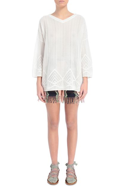 M MISSONI Jumper White Woman - Back