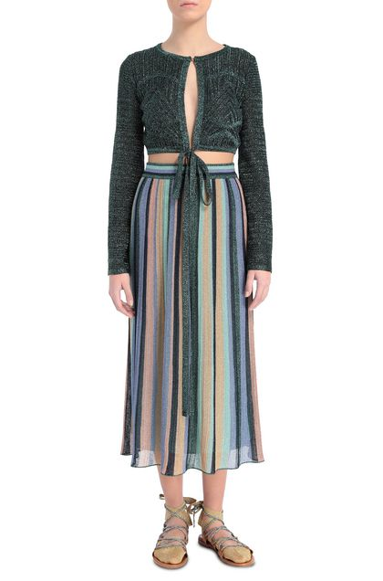 M MISSONI Cardigan Dark green Woman - Back
