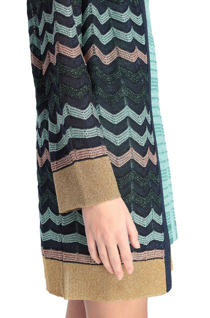 M MISSONI Cardigan Dark blue Woman - Front