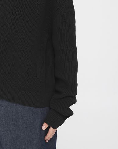 SWEATERS Knitwear sweater Black