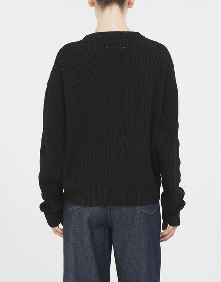 MM6 MAISON MARGIELA Knitwear sweater Long sleeve jumper Woman e