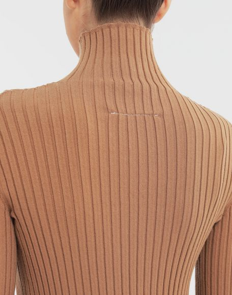 MM6 MAISON MARGIELA High-neck pullover High neck Woman b