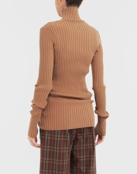 MM6 MAISON MARGIELA High-neck pullover High neck Woman e