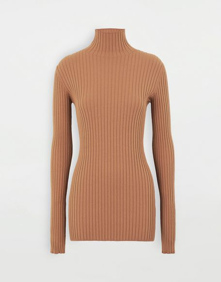 MM6 MAISON MARGIELA High-neck pullover High neck Woman f
