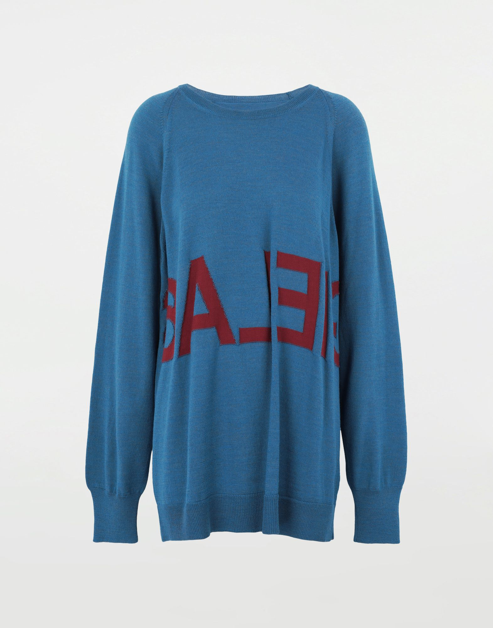 MM6 MAISON MARGIELA Reversed logo sweater Crewneck sweater Woman f