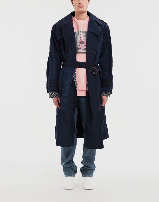 MAISON MARGIELA Combo tonic nylon shirt coat Full-length jacket [*** pickupInStoreShippingNotGuaranteed_info ***] d