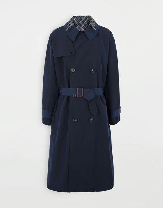 MAISON MARGIELA Combo tonic nylon shirt coat Full-length jacket [*** pickupInStoreShippingNotGuaranteed_info ***] f