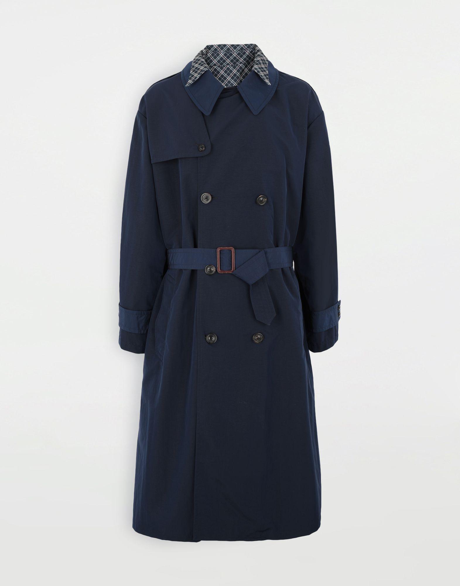MAISON MARGIELA Manteau à chemise intégrée en nylon tonique Pardessus Homme f