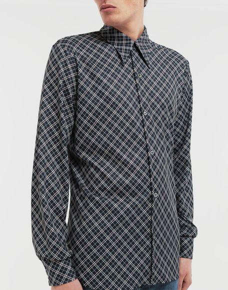 MAISON MARGIELA Manteau à chemise intégrée en nylon tonique Pardessus Homme a