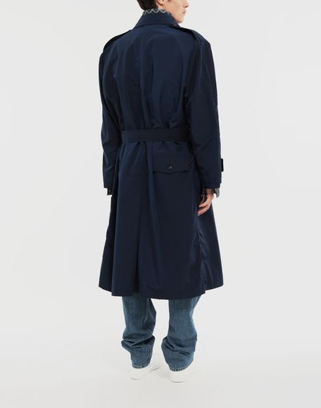 MAISON MARGIELA Manteau à chemise intégrée en nylon tonique Pardessus Homme e