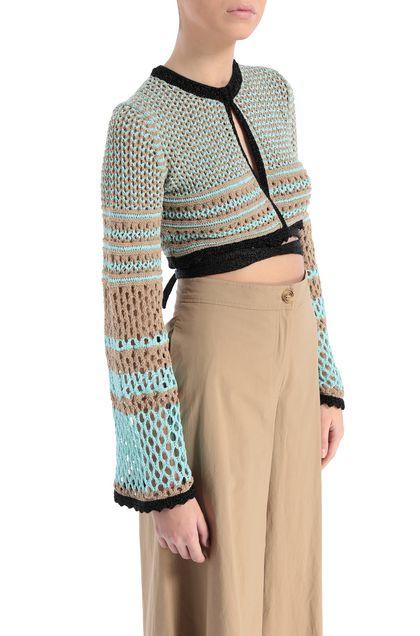 M MISSONI Cardigan Khaki Woman - Front