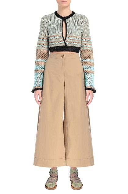 M MISSONI Cardigan Khaki Woman - Back