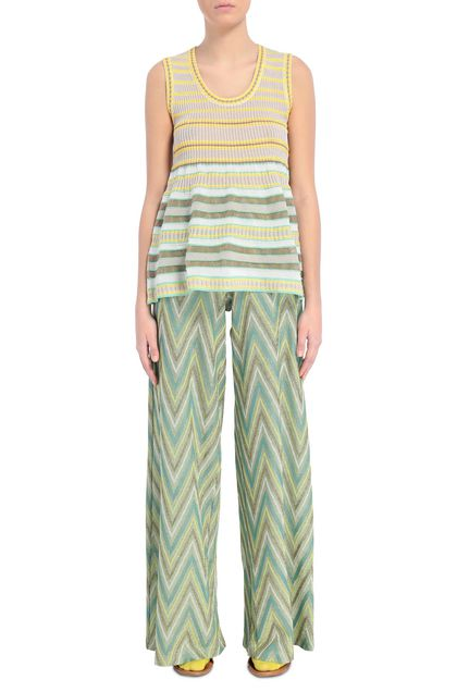 M MISSONI Jumper Yellow Woman - Back