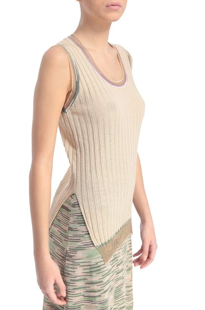 M MISSONI Sweater Beige Woman - Front