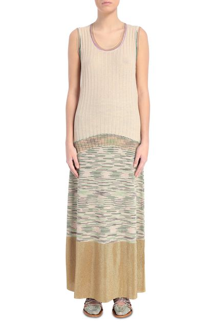 M MISSONI Jumper Beige Woman - Back