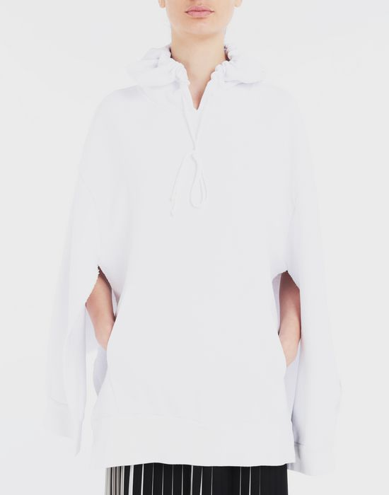 MAISON MARGIELA Décortiqué cape sweatshirt Sweatshirt [*** pickupInStoreShipping_info ***] a