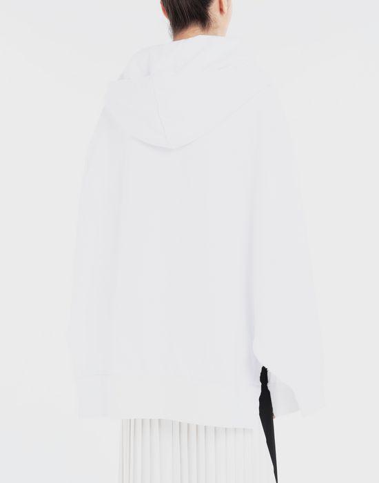 MAISON MARGIELA Décortiqué cape sweatshirt Sweatshirt [*** pickupInStoreShipping_info ***] e