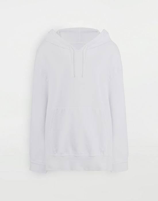 MAISON MARGIELA Décortiqué cape sweatshirt Sweatshirt [*** pickupInStoreShipping_info ***] f