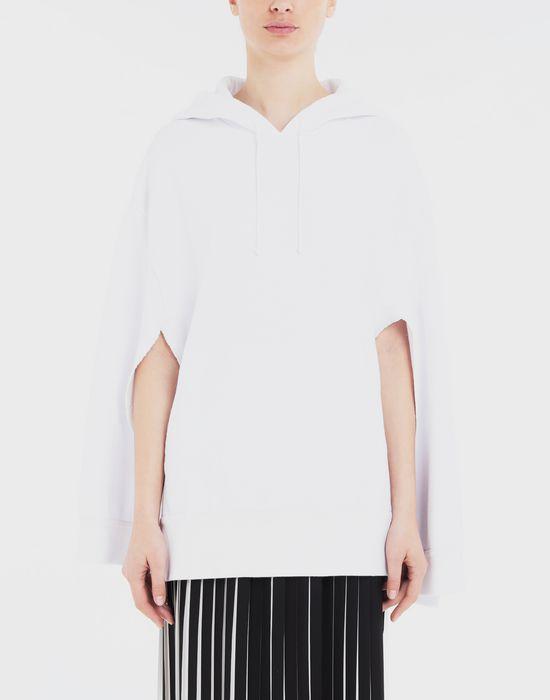 MAISON MARGIELA Décortiqué cape sweatshirt Sweatshirt [*** pickupInStoreShipping_info ***] r