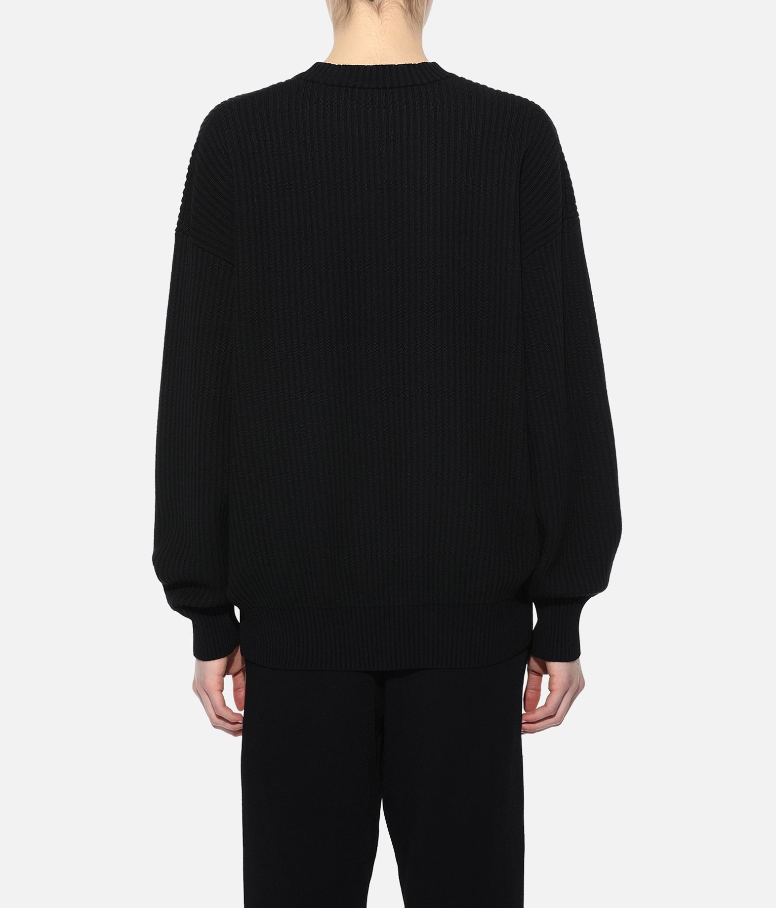 Y-3 Y-3 Tech Knit Crew Sweatshirt Long sleeve jumper Woman d
