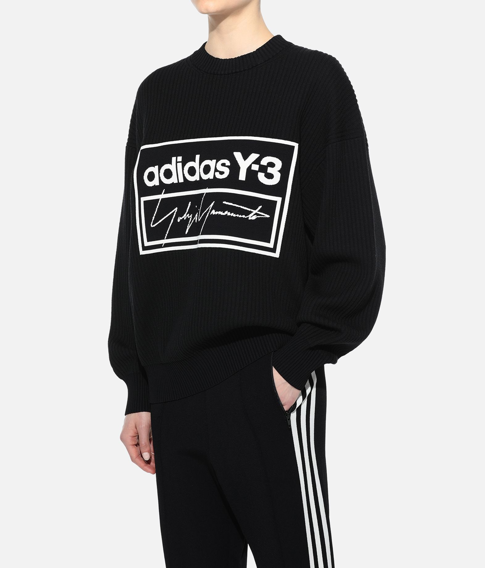 Y-3 Y-3 Tech Knit Crew Sweatshirt Long sleeve jumper Woman e
