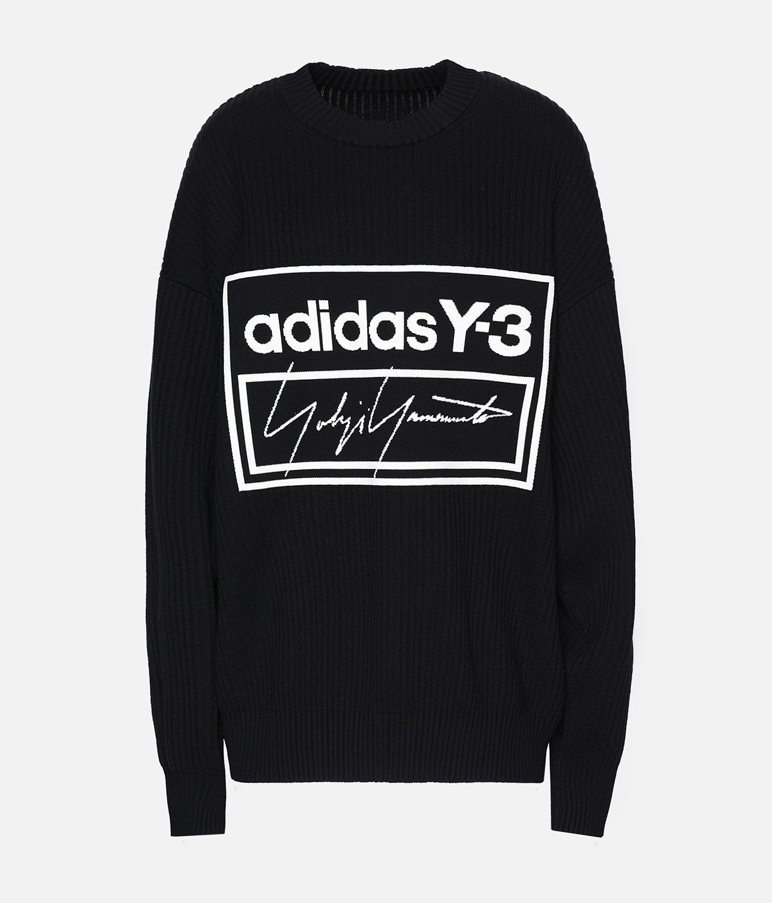 Y-3 Y-3 Tech Knit Crew Sweatshirt Long sleeve jumper Woman f