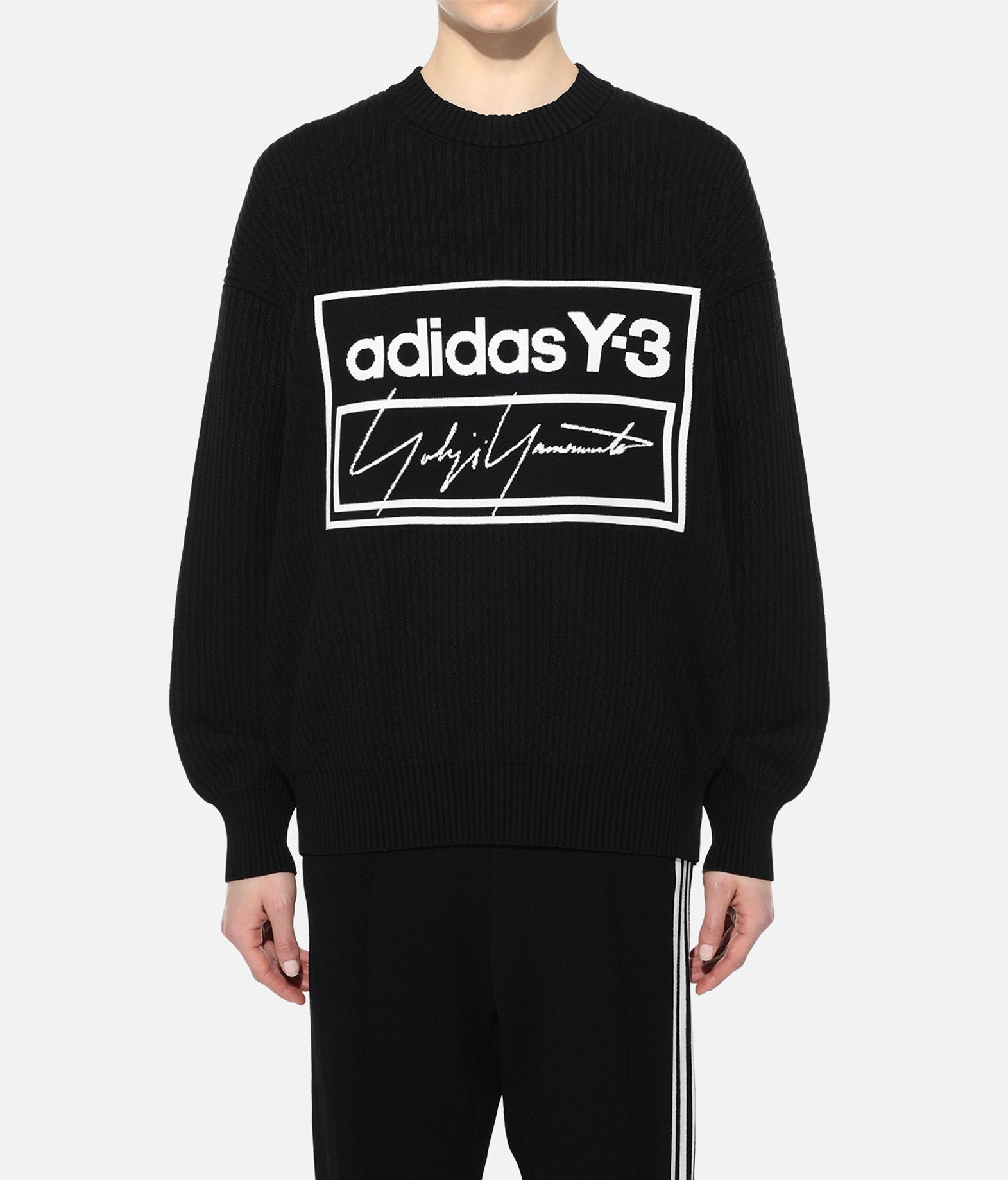 Y-3 Y-3 Tech Knit Crew Sweatshirt Long sleeve jumper Woman r