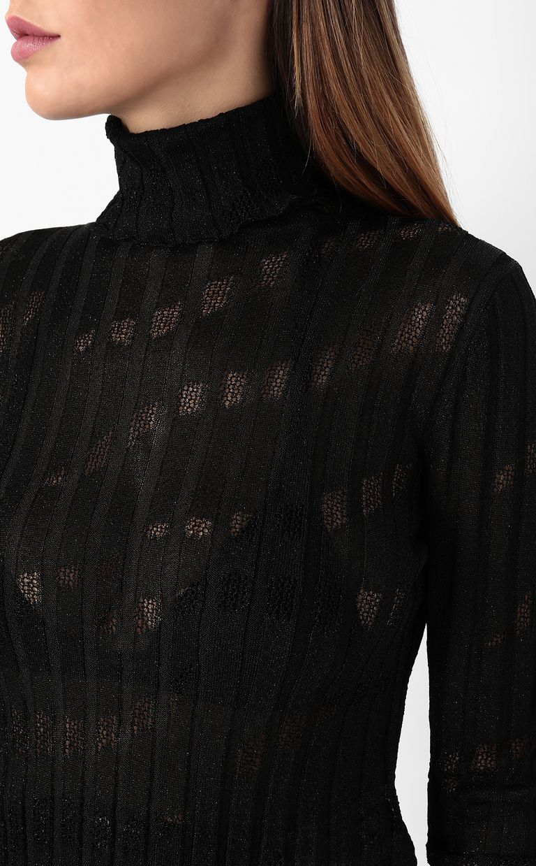 JUST CAVALLI Ribbed pullover High neck sweater Woman e