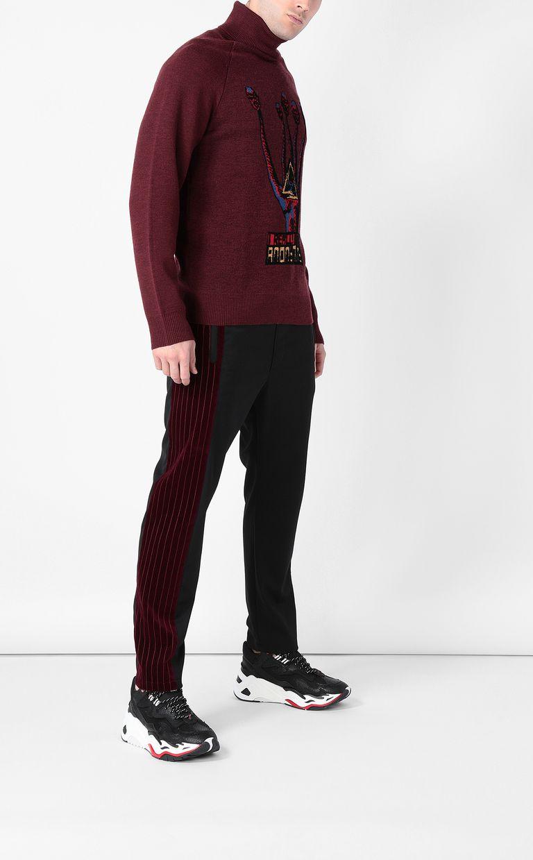 "JUST CAVALLI ""Anonymity"" sweater High neck sweater Man d"