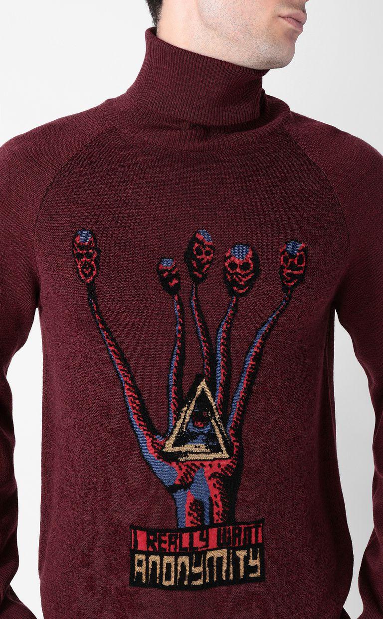 "JUST CAVALLI ""Anonymity"" sweater High neck sweater Man e"