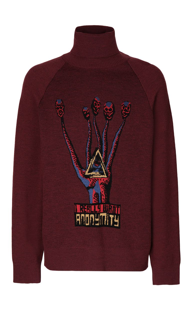 "JUST CAVALLI ""Anonymity"" sweater High neck sweater Man f"
