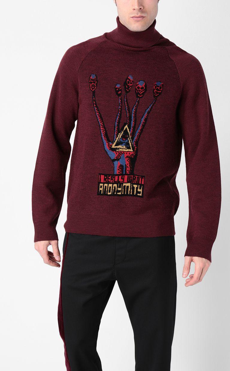 "JUST CAVALLI ""Anonymity"" sweater High neck sweater Man r"