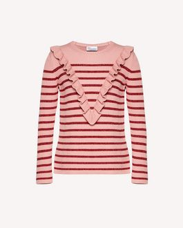 REDValentino Knit Sweater Woman SR3KC0Q54G7 N17 a