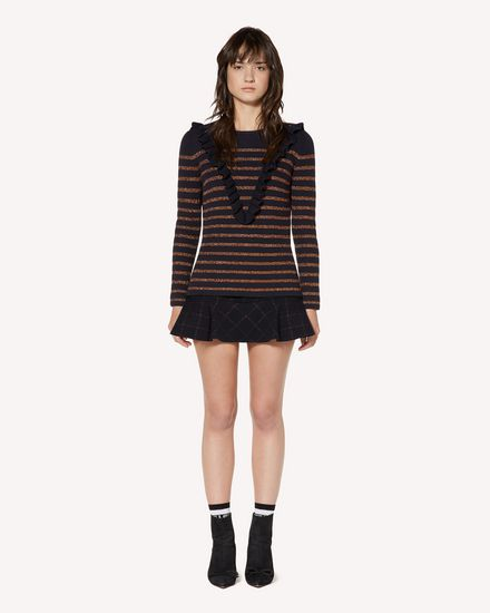 REDValentino Knit Sweater Woman SR3KCB064GJ JZM f