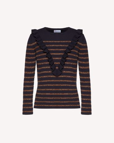 REDValentino SR3KCB064GJ JZM Knit Sweater Woman a