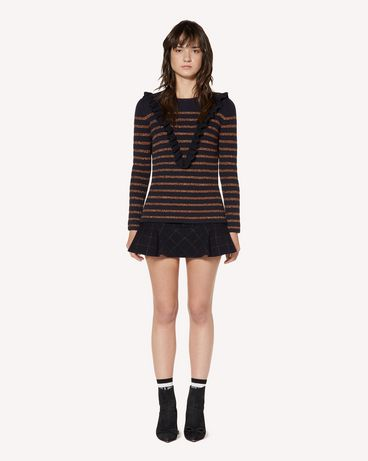 REDValentino SR3KCB064GJ JZM Knit Sweater Woman f