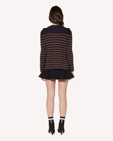 REDValentino SR3KCB064GJ JZM Knit Sweater Woman r