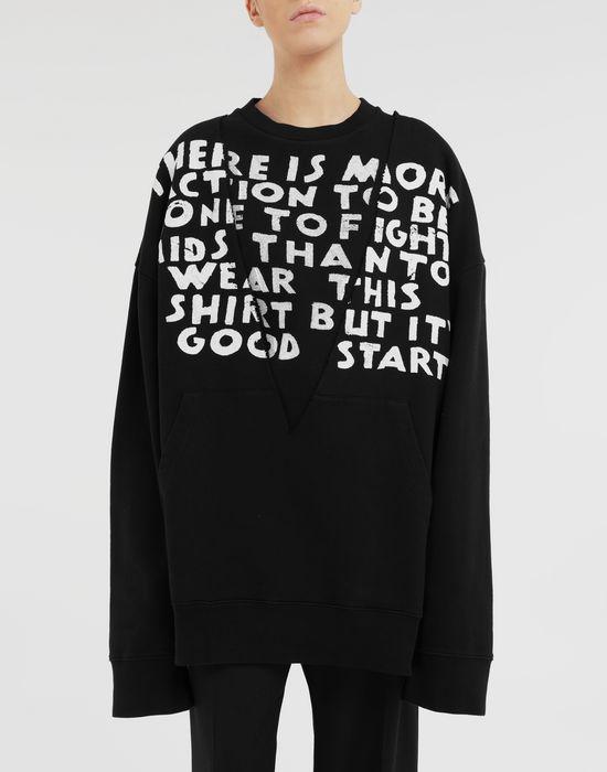 MM6 MAISON MARGIELA AIDS Charity sweatshirt Sweatshirt [*** pickupInStoreShipping_info ***] r