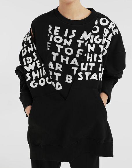 MM6 MAISON MARGIELA AIDS Charity sweatshirt Sweatshirt Woman b