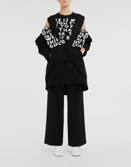 MM6 MAISON MARGIELA AIDS Charity sweatshirt Sweatshirt Woman d