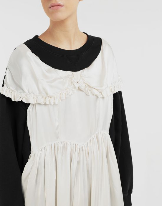 MM6 MAISON MARGIELA Layered dress sweatshirt Sweatshirt [*** pickupInStoreShipping_info ***] a