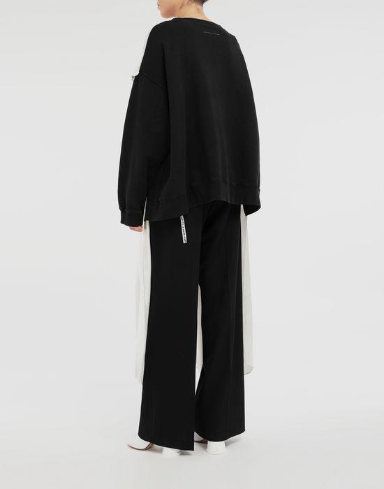 MM6 MAISON MARGIELA Layered dress sweatshirt Sweatshirt [*** pickupInStoreShipping_info ***] e