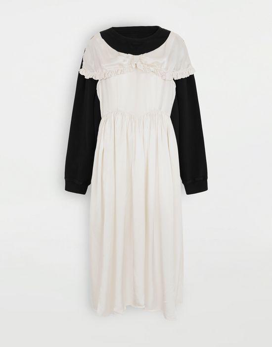 MM6 MAISON MARGIELA Layered dress sweatshirt Sweatshirt [*** pickupInStoreShipping_info ***] f