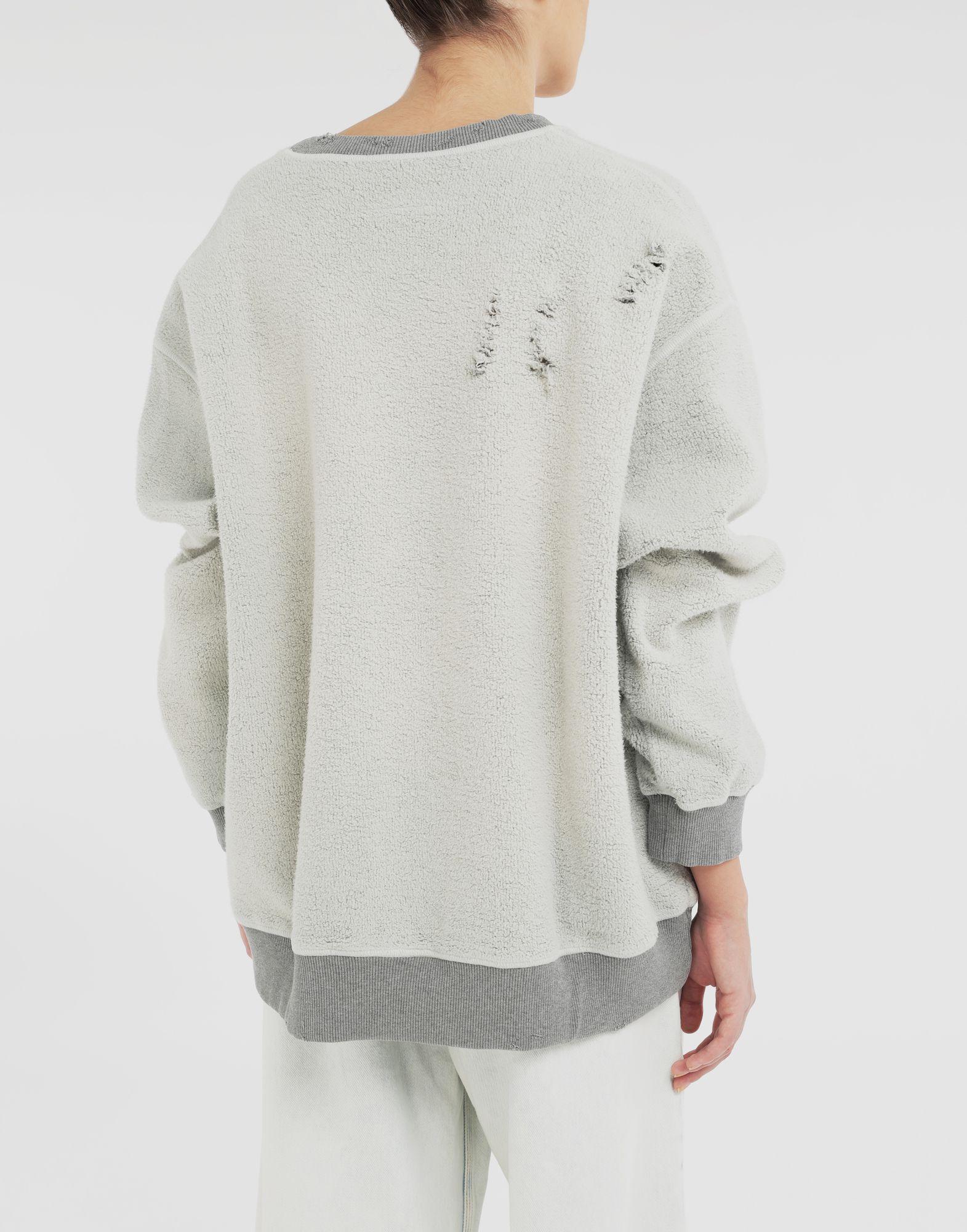 MM6 MAISON MARGIELA Logo reversible sweatshirt Sweatshirt Woman e