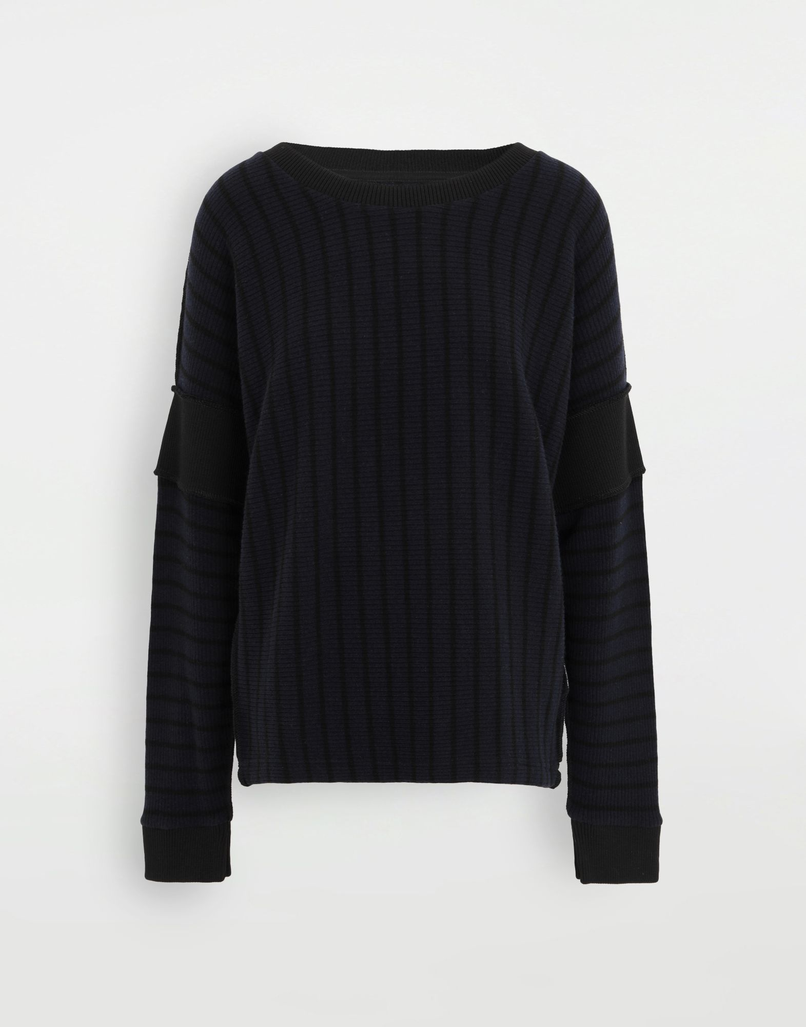 MM6 MAISON MARGIELA Stripe sweater Long sleeve t-shirt Woman f