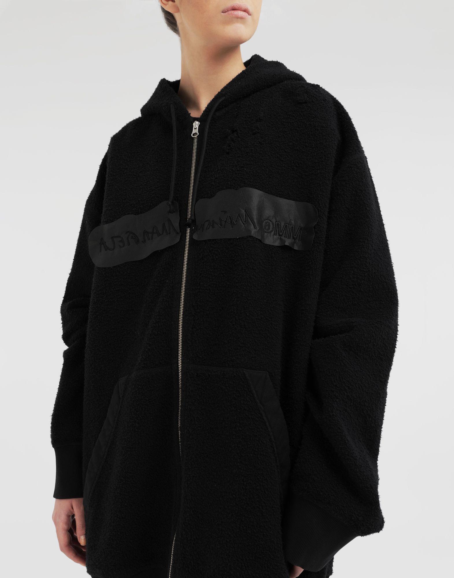 MM6 MAISON MARGIELA Reversed hoodie dress Sweatshirt Woman a