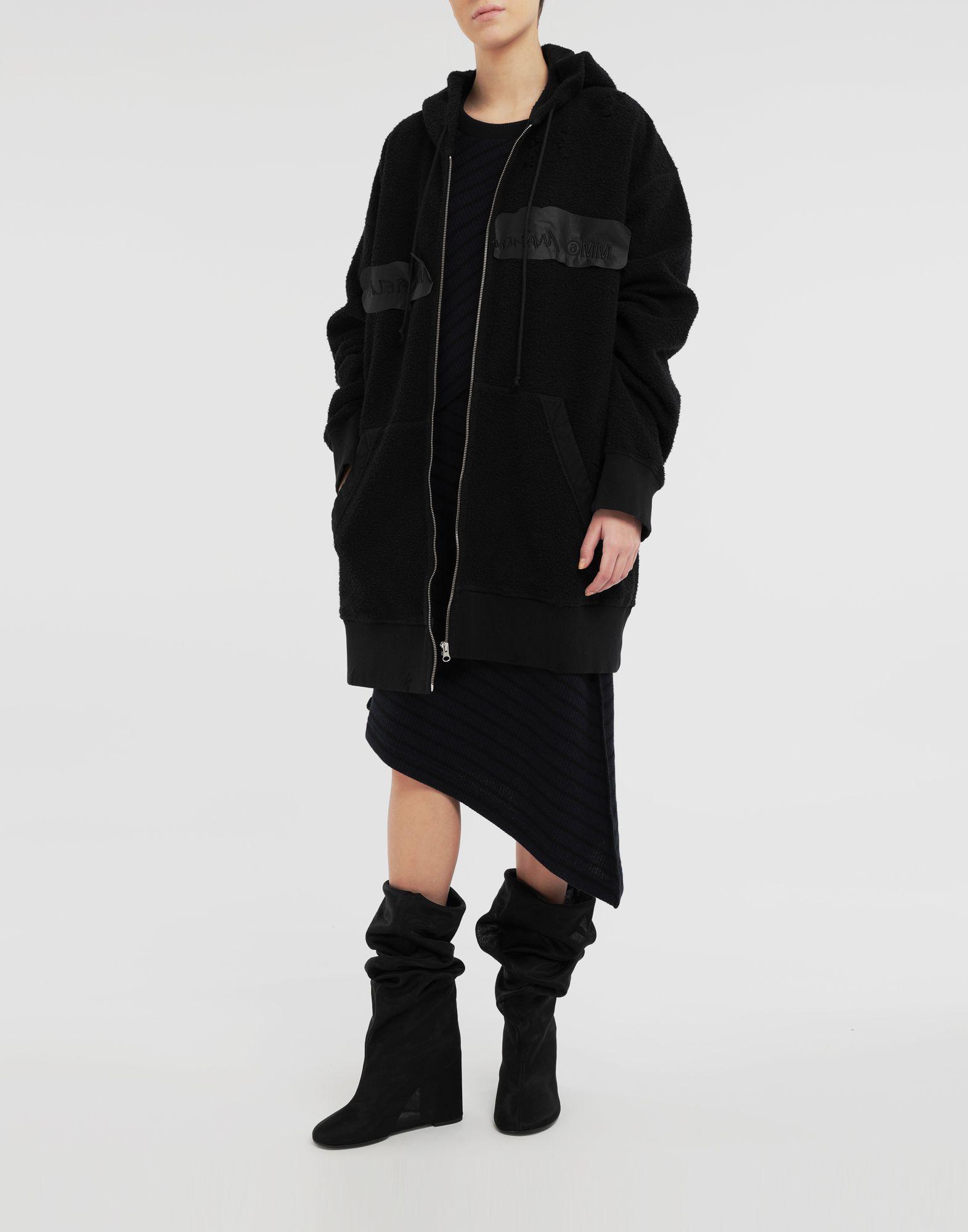 MM6 MAISON MARGIELA Reversed hoodie dress Sweatshirt Woman d