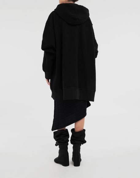 MM6 MAISON MARGIELA Reversed hoodie dress Sweatshirt Woman e