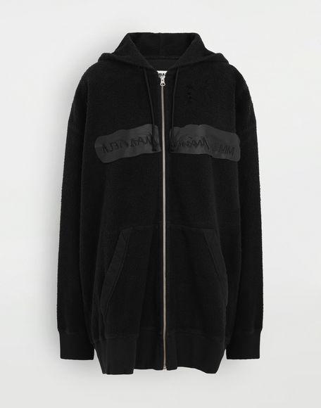 MM6 MAISON MARGIELA Reversed hoodie dress Sweatshirt Woman f