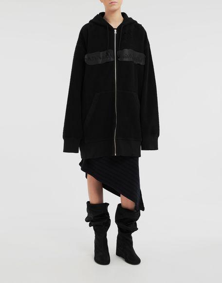 MM6 MAISON MARGIELA Reversed hoodie dress Sweatshirt Woman r